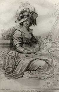 Maria Cosway engraving